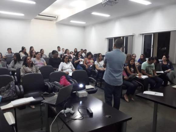 Palestra empreendedorismo feminino, ocorrida em 13/08/2018